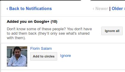Florin Salam Google+
