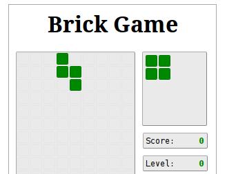 Tetris game preview